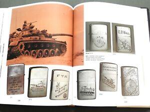 """VIETNAM ZIPPO"" US PBR BROWN WATER NAVY ENGRAVED SOUVENIR LIGHTER REFERENCE BOOK"