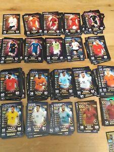 Match Attax 18//19 Paquete de 10 tarjetas-que tu elijas