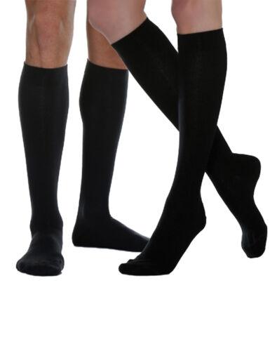 Reise Kompressionssocken Stütz BUSINESS Socken Knie-Strümpfe Baumwolle relax820