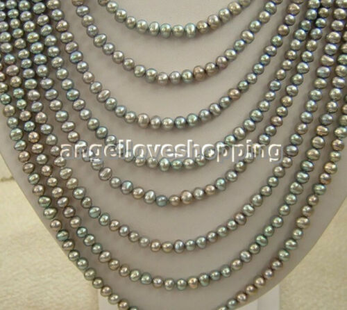 varitions color 8 strands freshwater pearl necklace jewelry marking supply