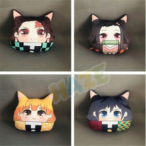Anime-Demon-Slayer-Kimetsu-no-Yaiba-Kamado-Nezuko-Plush-Doll-Home-Warm-Pillow