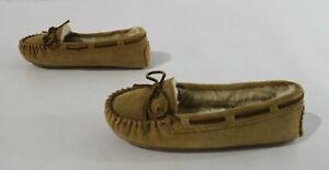 Minnetonka Women's Cally Moccasin Slippers CD4 Cinnamon Size US: 6.5