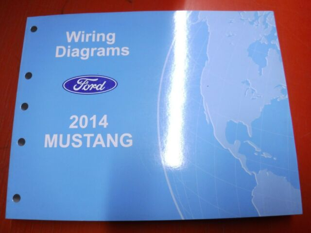 2014 Ford Mustang Original Factory Wiring Diagrams Manual