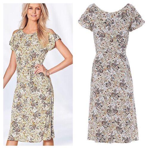 Occasion 49 22 Multi Print Size Cold Kaleidoscope Dress Shoulder Plus £ Pretty zgpqnwP