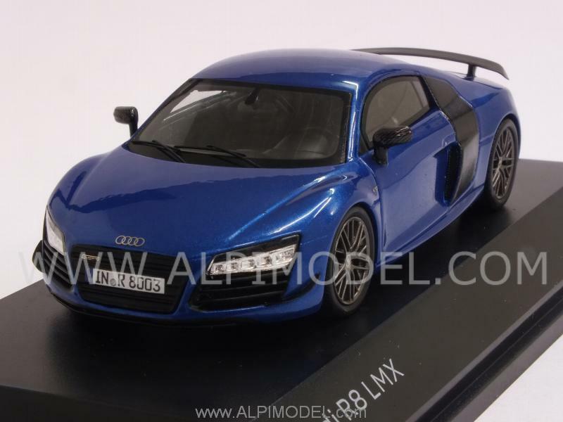 compra en línea hoy Audi R8 R8 R8 LMX 2015 ara azul Audi Promo 1 43 SPARK 5011418413  grandes ofertas