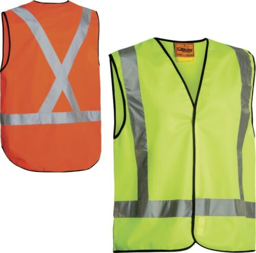 BISLEY WORKWEAR X TAPED HI VIS VEST BT0347