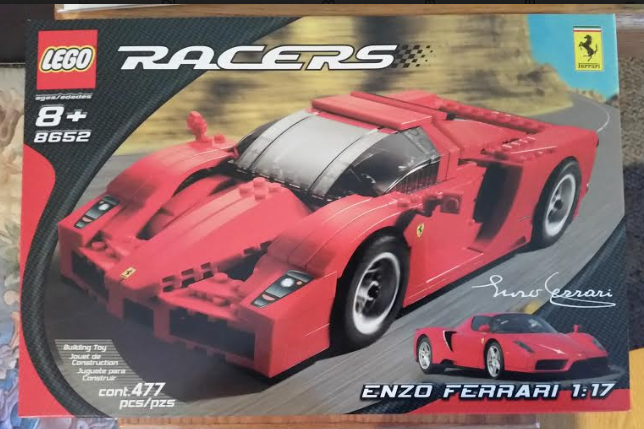 LEGO Racers  Enzo Ferrari 1 17 Scale - NEW IN BOX