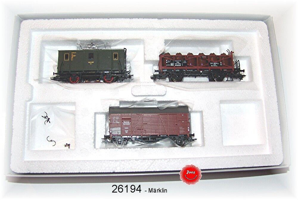 Märklin 26194 Confezione Treni et 194 Della DRG 3 Pezzi   Nuovo in Originale