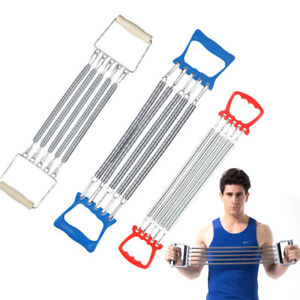 Fitness Equipment Multifunction Motion 3 in 1 Muscle Expander 5 Springs Chest Expander LLYY/® Chest Expanders