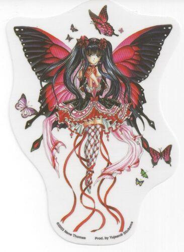 RED HEARTS FAERIE Anime Fairy Sticker Car Decal Nene Thomas faery