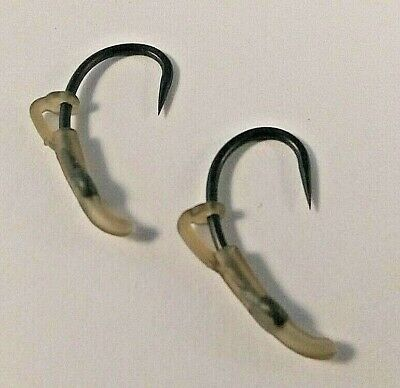 MOD 2 x PACKS OF GREEN or BROWN LINE ALIGNERS FOR CARP FISHING RIGS AND HOOKS