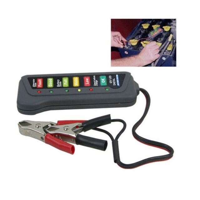 Tirol 12 Volt LED Battery and Alternator Tester For Cars and Trucks xP