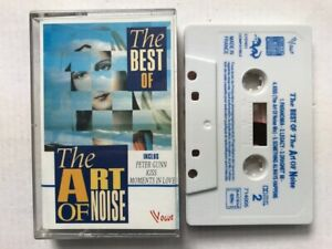 THE ART OF NOISE THE BEST OF K7 AUDIO TAPE c32