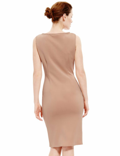 Dress s Sz New Nude 12 Impreziosito M Bodycon Collection Paillettes Uk BZZqF05
