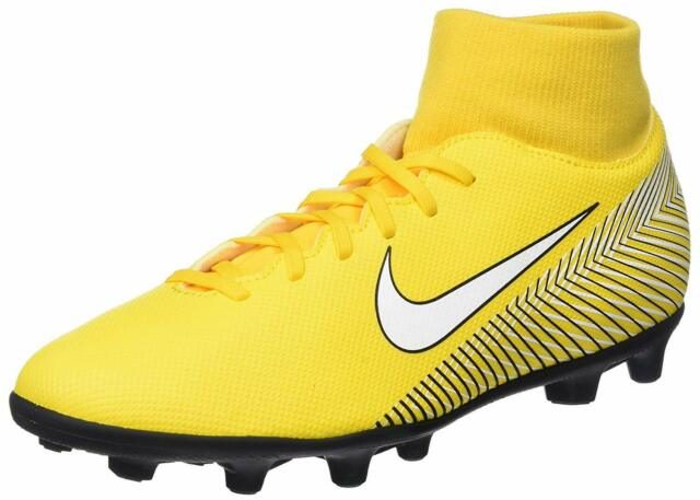 low priced 90e79 5af7a Nike Superfly 6 Club NJR Fg/mg A09467 710 Soccer Cleats Men 9/wmns 10.5  Yellow