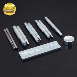 11x-Sterben-Locher-Snap-Niet-Setter-Basis-Naehen-Werkzeug-fuer-DIY-Leder-Handwerk