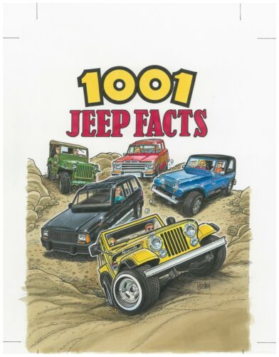 1001 Jeep Facts NEW!
