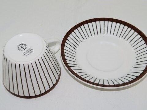 Porcelæn, Gustavsberg Spisa Ribb  Kaffekop,