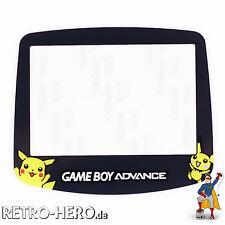 Game Boy Advance Display Scheibe Screen Sichtscheibe Ersatz GBA Pokemon Pikachu