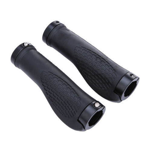 Details about  /Ergonomic Rubber MTB Mountain Bike Bicycle Handlebar Grips Cycling Lock-On