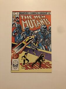 The New Mutants #2 (Apr 1983, Marvel)
