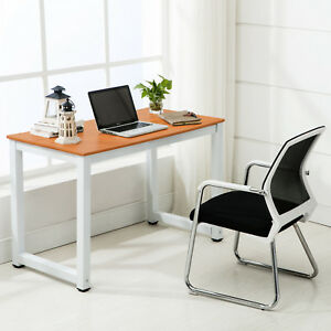 Image Is Loading New Wood Computer Desk PC Laptop Table Workstation