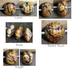 Savannah-Handmade-Glass-Lampwork-Beads-MTO-Choose-your-shape