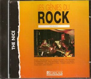 MUSIQUE-CD-LES-GENIES-DU-ROCK-EDITIONS-ATLAS-THE-NICE-RONDO-N-23
