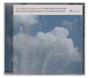 Mozart-Klavierkonzerte-KV-488-499-505-Oliver-Andreas-Frank-Gerlinde-Saemann