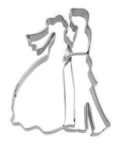 Silikon Hochzeit Kuchenform Braut Bräutigam Ausstecher Form Fondant Kuche Dekor