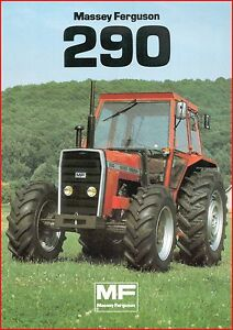 French Original  Prospect  Tracteur Tractor Massey Ferguson MF 265/_ 2 pages