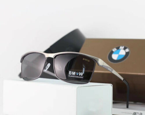 new BMW Brand Men/'s Sunglasses Polarized Classic UV400 Men Glasses Brand Box