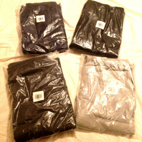 Hanes Comfortsoft EcoSmart Fleece Sweat pants Without Pockets Choose Size Color