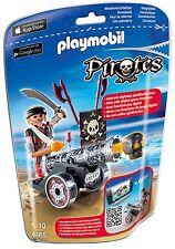 playmobil PIRATES N° 6163 rote App-Kanone mit Freibeuter neu ovp viel Zubehör