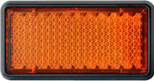 HR-iMotion catadióptricos gatos ojo 5 cm reflector chip Orange autoadhesivo