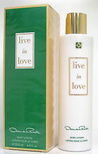Oscar de la Renta Live in Love  200 ml perfumed Body Lotion Neu OVP
