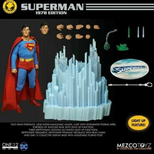 PRE-ORDER for Mezco One:12 Exclusive 1978 SUPERMAN Action Figure