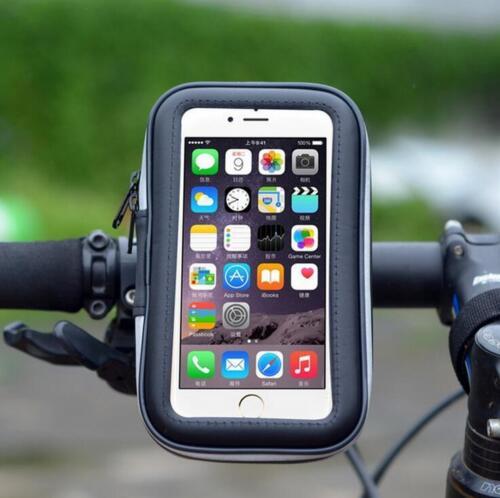 New Bike Bicycle Motorcycle Waterproof Phone Case Bag Handlebar Mount Holder