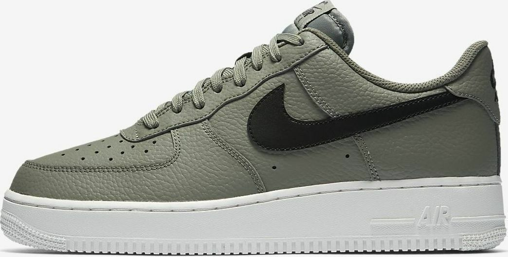 NIKE AIR FORCE 1 LOW '07 SNEAKERS MEN SHOES DARK STUCCO AA4083-007 SIZE 9 NEW