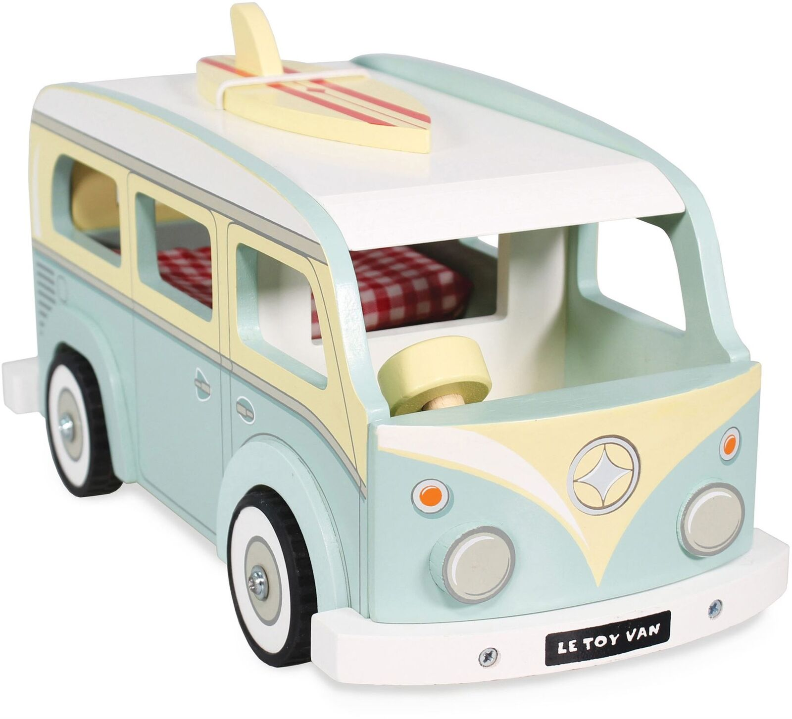 Le Toy Van TRADITIONAL TOYS CAMPER VAN Creative Pre-School Toy BN