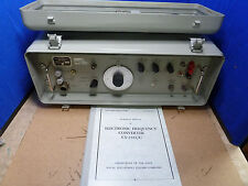 Navy Cv2353u Electronic Frequency Converter With Manual 18 N