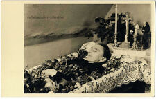 Post Mortem, Aufbahrung, Original-Photo um 1930