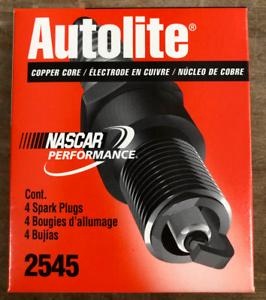 Autolite 2545 Spark Plug Box of 4 Spark Plugs