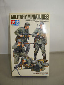 Tamiya-35293-German-Infantry-Set-French-Campaign-Military-Miniature-1-3-5-K12