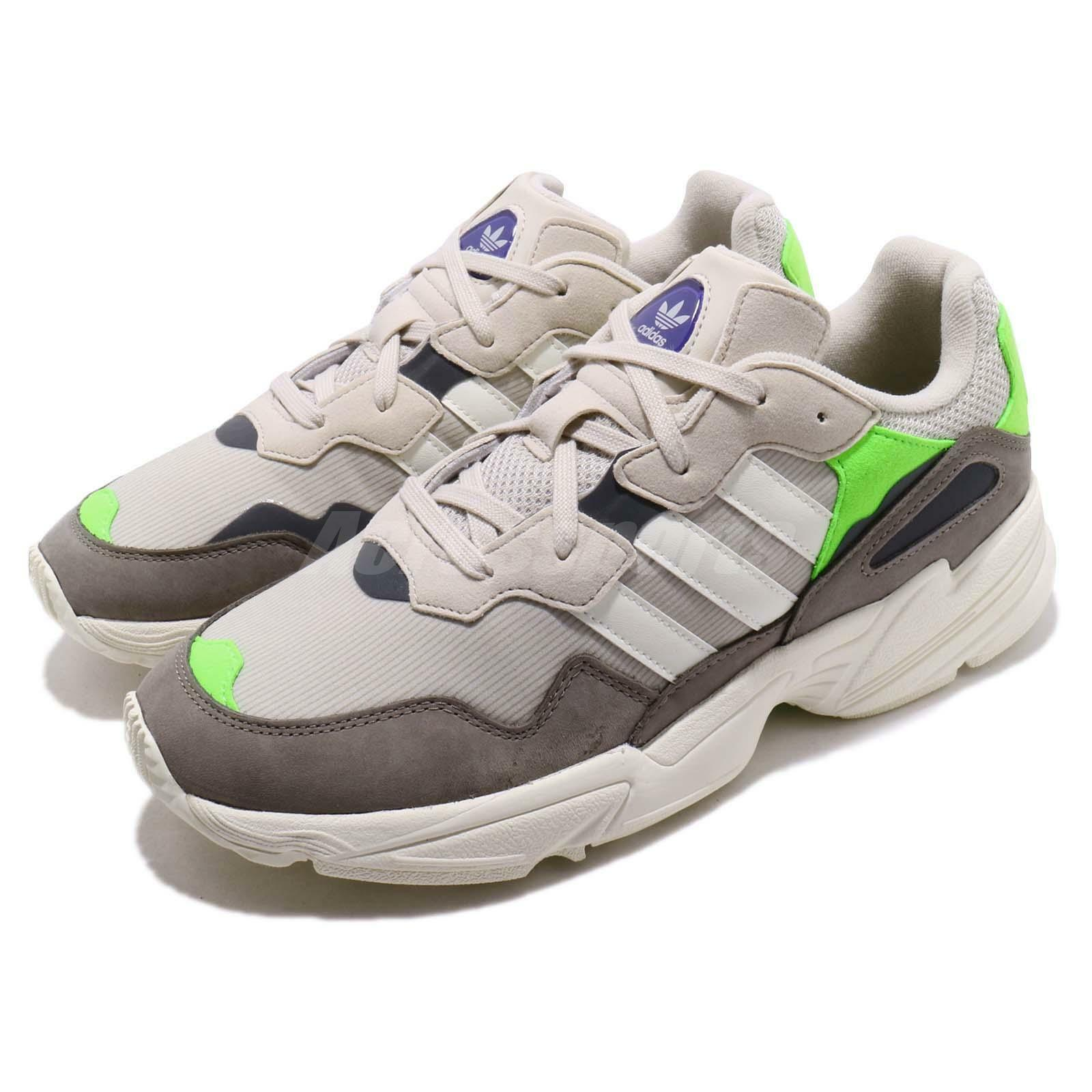 Adidas Originals Yung-96 Solar Green  Off White Grey Men Running shoes F97182  factory outlets