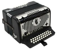 Hohner 3100 Panther Accordion Gcf Sol 31 Button Acordeón Diatónico Key Gcf