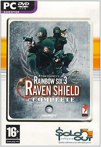 Tom-Clancy-039-s-Rainbow-Six-3-Raven-Shield-Complete-PC-Dvd-Rom-Computer-Game-16