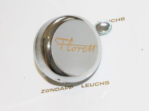 Kreidler Florett K 54 RMC Glocke Klingel Schriftzug Florett Gold