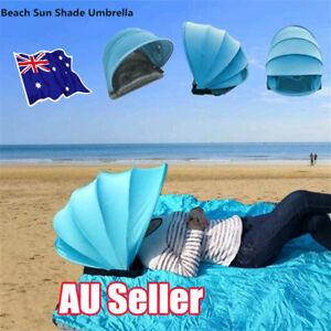 Portable-Beach-Sun-Shade-amp-Weather-Shelter-Umbrella-Tent-for-Picnic-Camping-EA