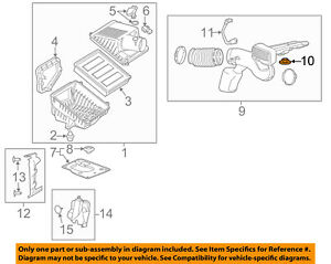 Genuine GM Air Cleaner Assembly Lower Insulator 84163457